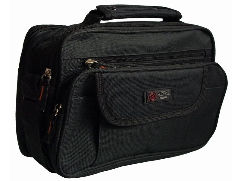09c4308be8518 Vielseitiges Messenger Sport Bag in Schwarz Trage Schulter Umhänge Tasche