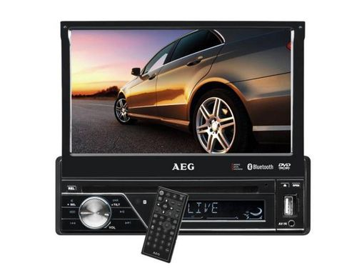 AEG Autoradio DVD 7 Zoll LCD Touchscreen Bluetooth AR 4026