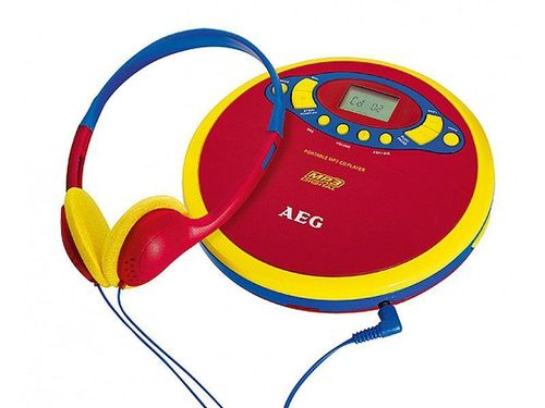 AEG Tragbarer CD/MP3-Player CDP 4228 Kids Line