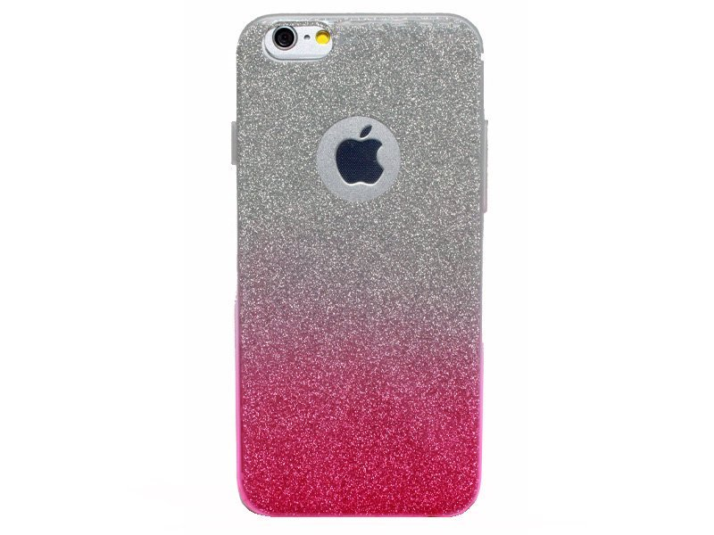 Iphone Glitzer Soft Case Transparent Rainbow 6G 6S TPU