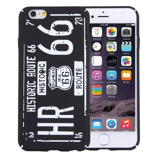IPHONE 6 / 6S Route66 Handyhülle US66 Case Cover TPU