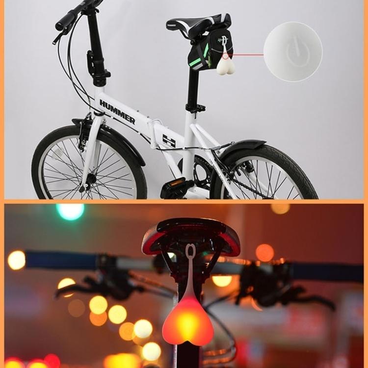 led fahrrad r cklicht radfahren fahrradlicht warnlicht. Black Bedroom Furniture Sets. Home Design Ideas