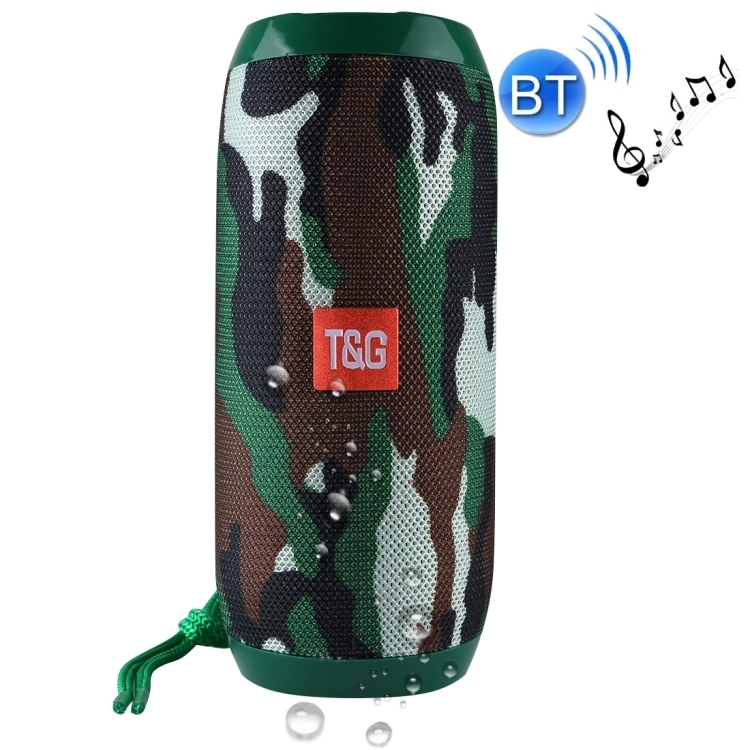 Tragbarer Bluetooth Lautsprecher Soundbox Soundstation Musikbox MP3 Radio Camoflage